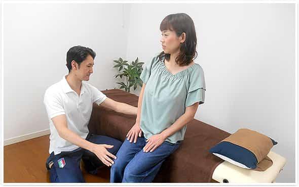 管理栄養士の資格持ちの先生がセルフケアと栄養面両方からサポート