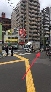 昭和通りに沿って右に行きます。